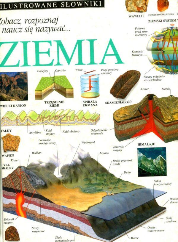 Ilustrowane słowniki Zobacz, rozpoznaj i naucz się nazywać... Ziemia -  Antykwariat Skrypt